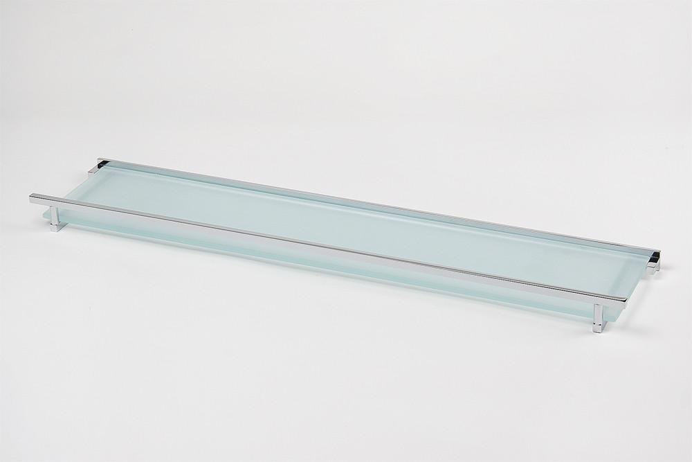 Полиця зі склом 30 см серія Viya
