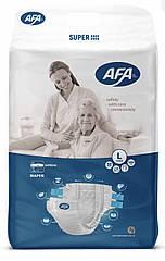 """Подгузники для взрослых ТМ""""AFA"""" размер L 30 штук, длина пояса 90-120 см"""