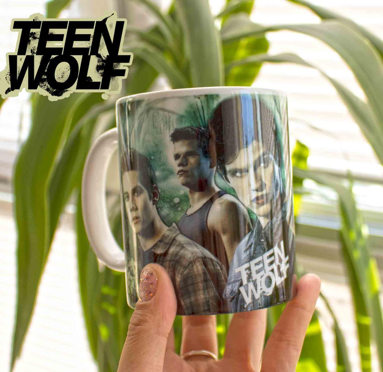 Чашка парни Волчонок/ Teen Wolf