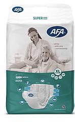"""Подгузники для взрослых ТМ""""AFA"""" размер XL 30 штук, длина пояса 100-140 см"""
