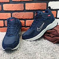 Зимние кроссовки (на меху) Nike Zoom 1-026 (реплика) [ 41,43 ](реплика). Кроссовки зимние, спортивные ботинки