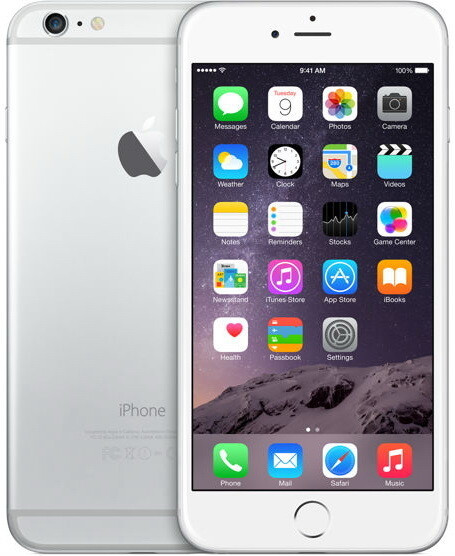 Смартфон Apple Iphone 6 Plus 128GB Silver Grade A Refurbished