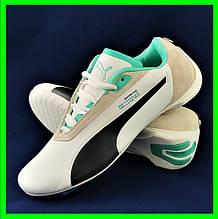 Кроссовки PUMA for AMG. Мужские кроссовки Пума белые