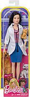 Кукла Барби Профессии Ветеринар с питомцем Barbie I Can Be Mattel DVF58, фото 3