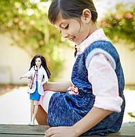 Кукла Барби Профессии Ветеринар с питомцем Barbie I Can Be Mattel DVF58, фото 6