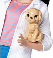 Кукла Барби Профессии Ветеринар с питомцем Barbie I Can Be Mattel DVF58, фото 4