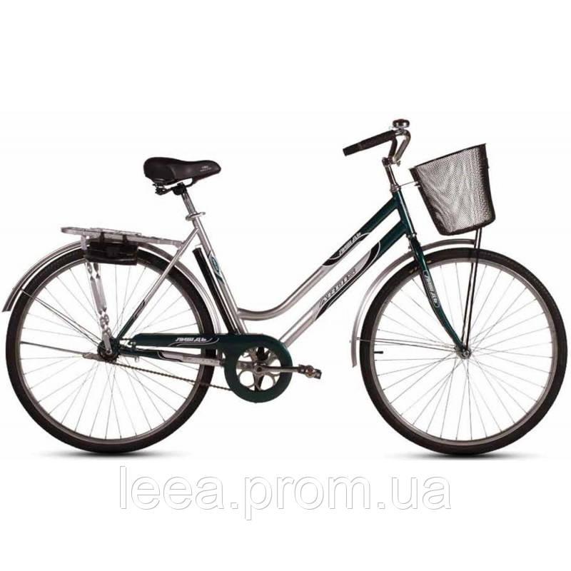 """Городской велосипед Лыбидь Retro с корз. (скорость:1"""") рама: 22"""""""
