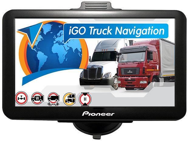 GPS навигатор Pioneer X77 с картой Европы для грузовиков (pi_77eurt)