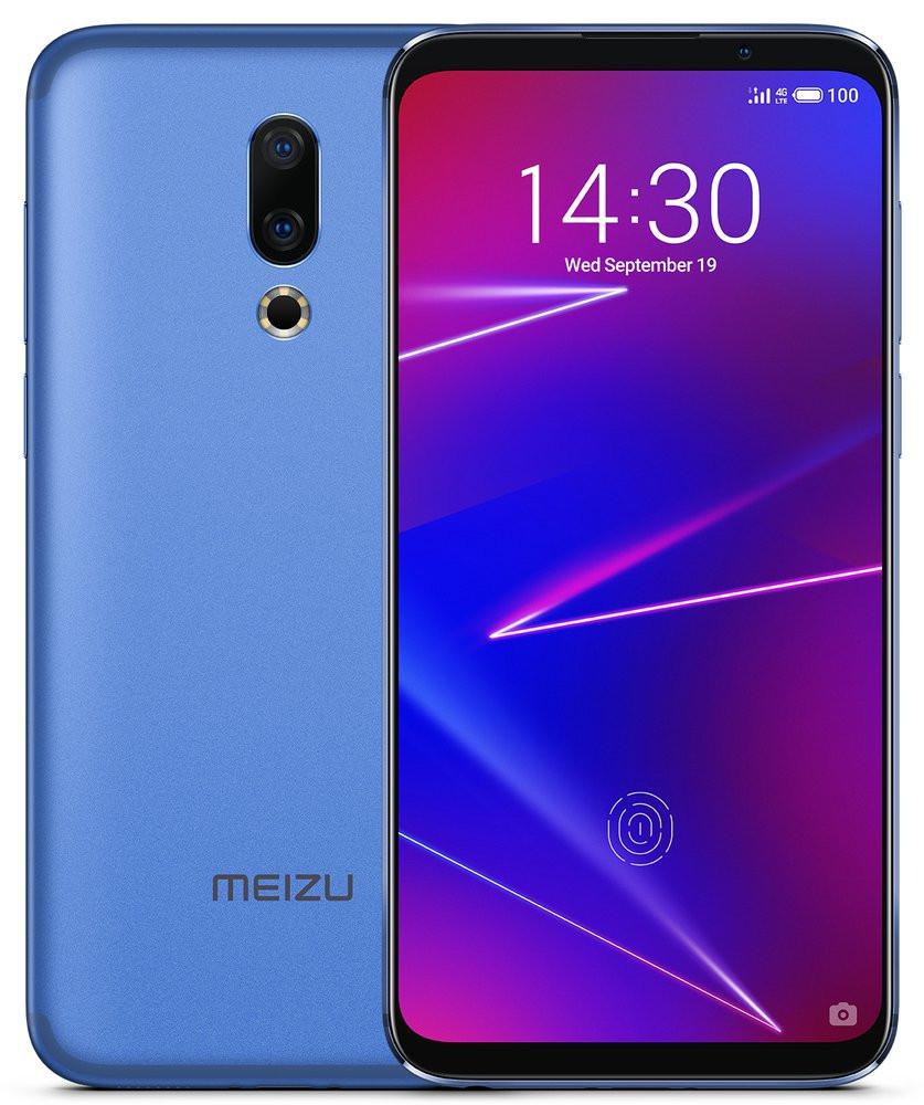 Смартфон Meizu 16 6/64GB Blue (Global Version)