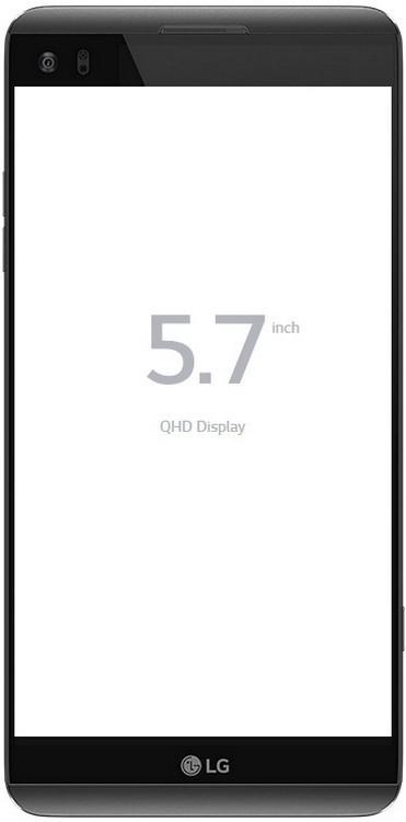 Смартфон LG H910 V20 64GB 1SIM Black Refurbished