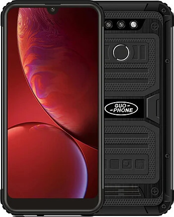 Защищенный телефон  Land Rover 2020 3/32Gb Black противоударный водонепроницаемый смартфон