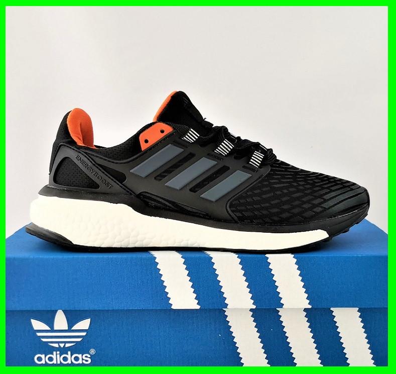 Кроссовки Adidas Energy Boost Чёрные Мужские Адидас  Видео Обзор