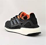 Кроссовки Adidas Energy Boost Чёрные Мужские Адидас  Видео Обзор, фото 5