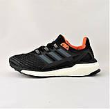 Кроссовки Adidas Energy Boost Чёрные Мужские Адидас  Видео Обзор, фото 6