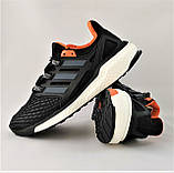 Кроссовки Adidas Energy Boost Чёрные Мужские Адидас  Видео Обзор, фото 7