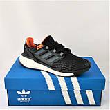 Кроссовки Adidas Energy Boost Чёрные Мужские Адидас  Видео Обзор, фото 9