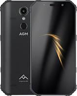 Защищенный телефон  AGM A9 4/64Gb black противоударный водонепроницаемый смартфон
