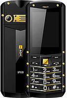 Захищений протиударний кнопковий телефон AGM M2 gold