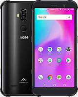 Защищенный телефон  AGM X3 8/128Gb Black противоударный водонепроницаемый смартфон
