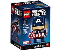 Lego BrickHeadz Капитан Америка 41589, фото 1
