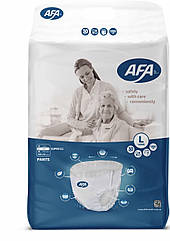 """Подгузники-трусики  для взрослых ТМ""""AFA"""" размер L 30 штук, длина пояса 80-110 см"""