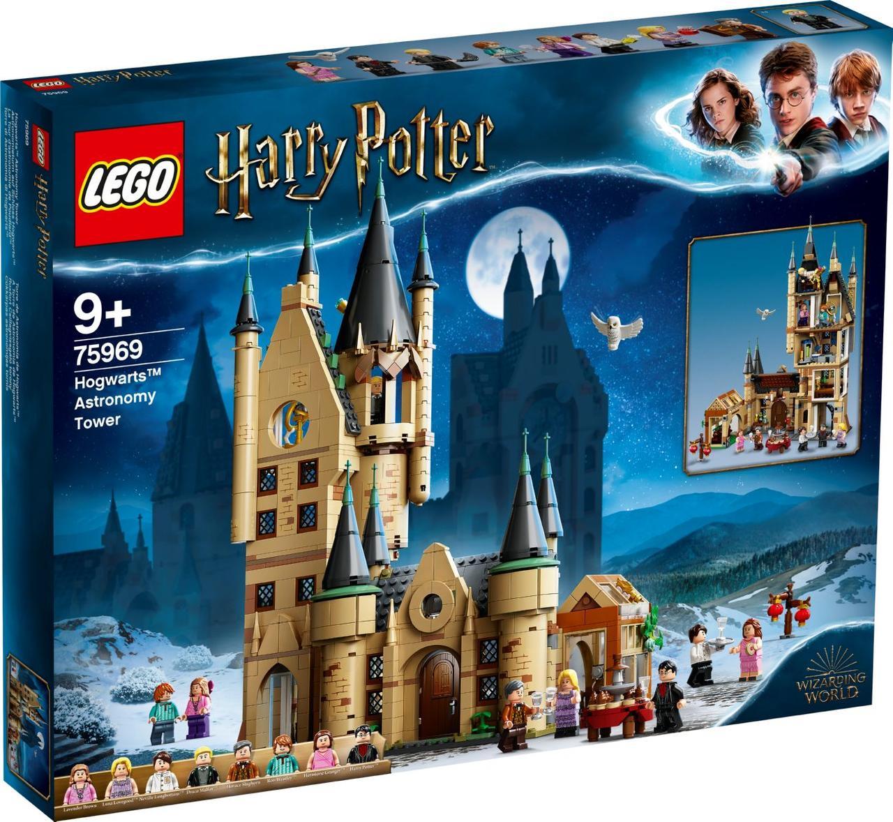 Детский Конструктор Lego Harry Potter Астрономическая башня Хогвартса 75969