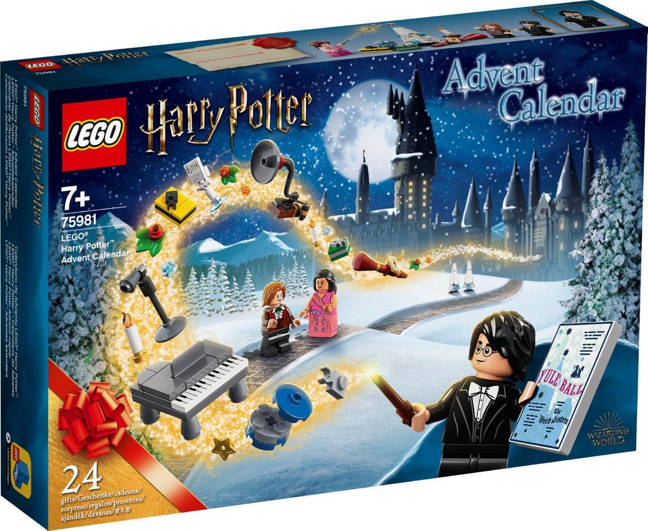 Lego Harry Potter Новорічний календар Лего Гаррі Поттер 75981