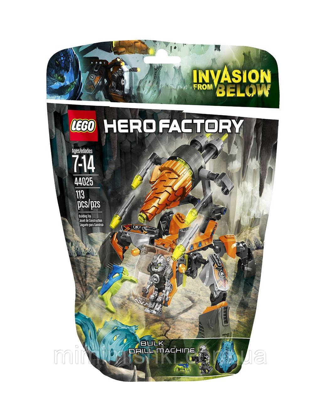 Lego Hero Factory Бурильная машина Балка 44025