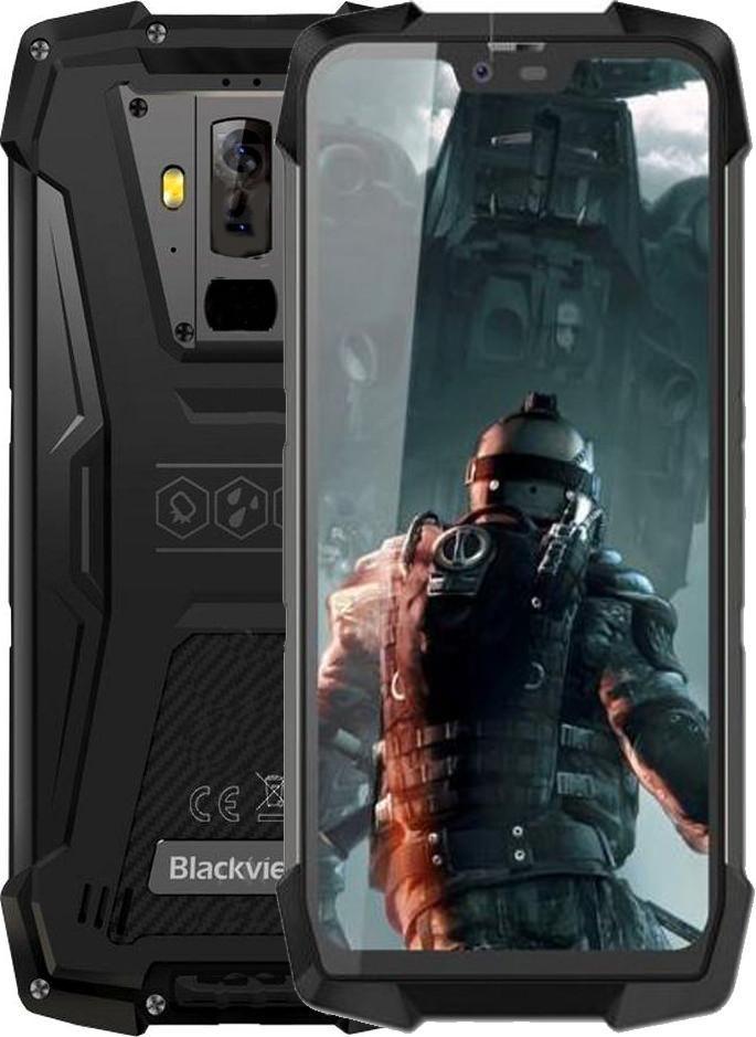 Захищений телефон Blackview BV9700 Pro black протиударний водонепроникний смартфон