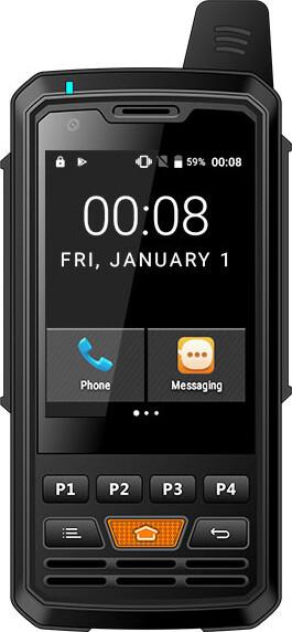 Защищенный телефон  Uniwa Alps F50 (Land Rover F50) Black IP65 противоударный водонепроницаемый смартфон