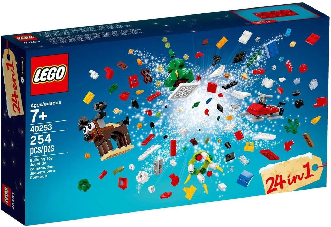 Lego Iconic Різдвяні Ідеї 24 в 1 40253