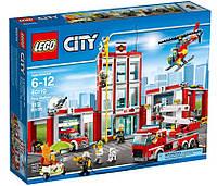 Детский Конструктор Lego City Пожарная часть 60110, фото 1