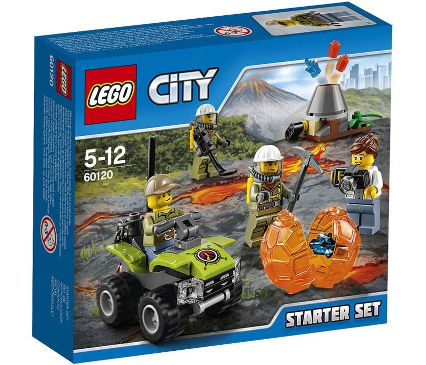 LEGO City Вулкан: стартовый набор 60120