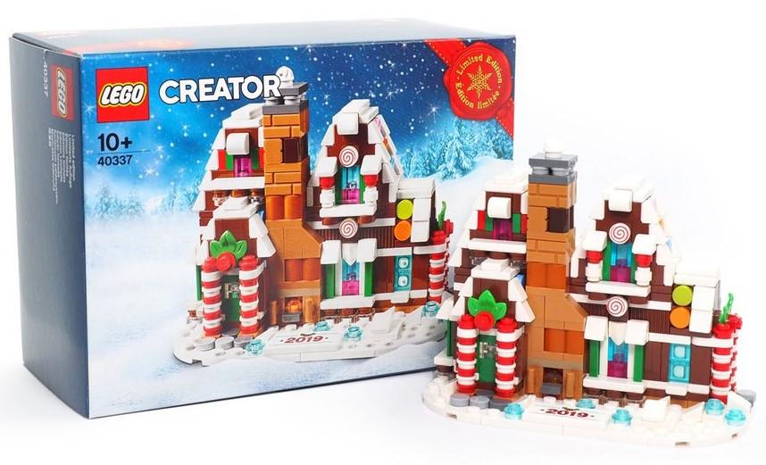 Lego Iconic Пряничный домик 40337