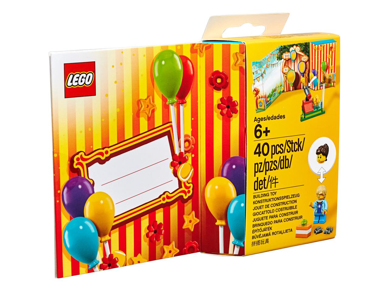 Детский Конструктор Lego Iconic Поздравительная открытка 853906