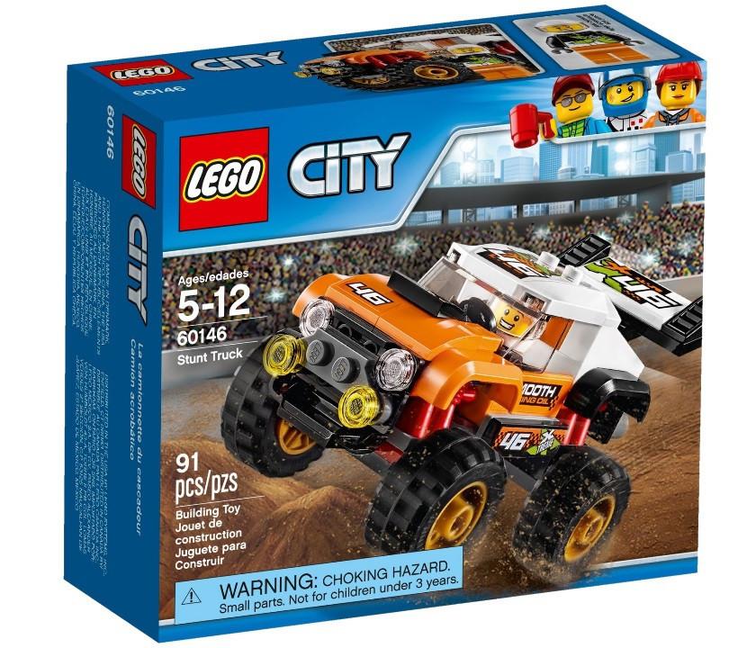 Lego City Внедорожник каскадера 60146