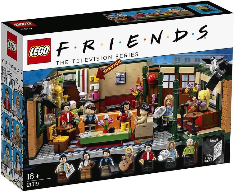 Детский Конструктор Lego Ideas Друзья Центральный парк Кафе Друзей 21319