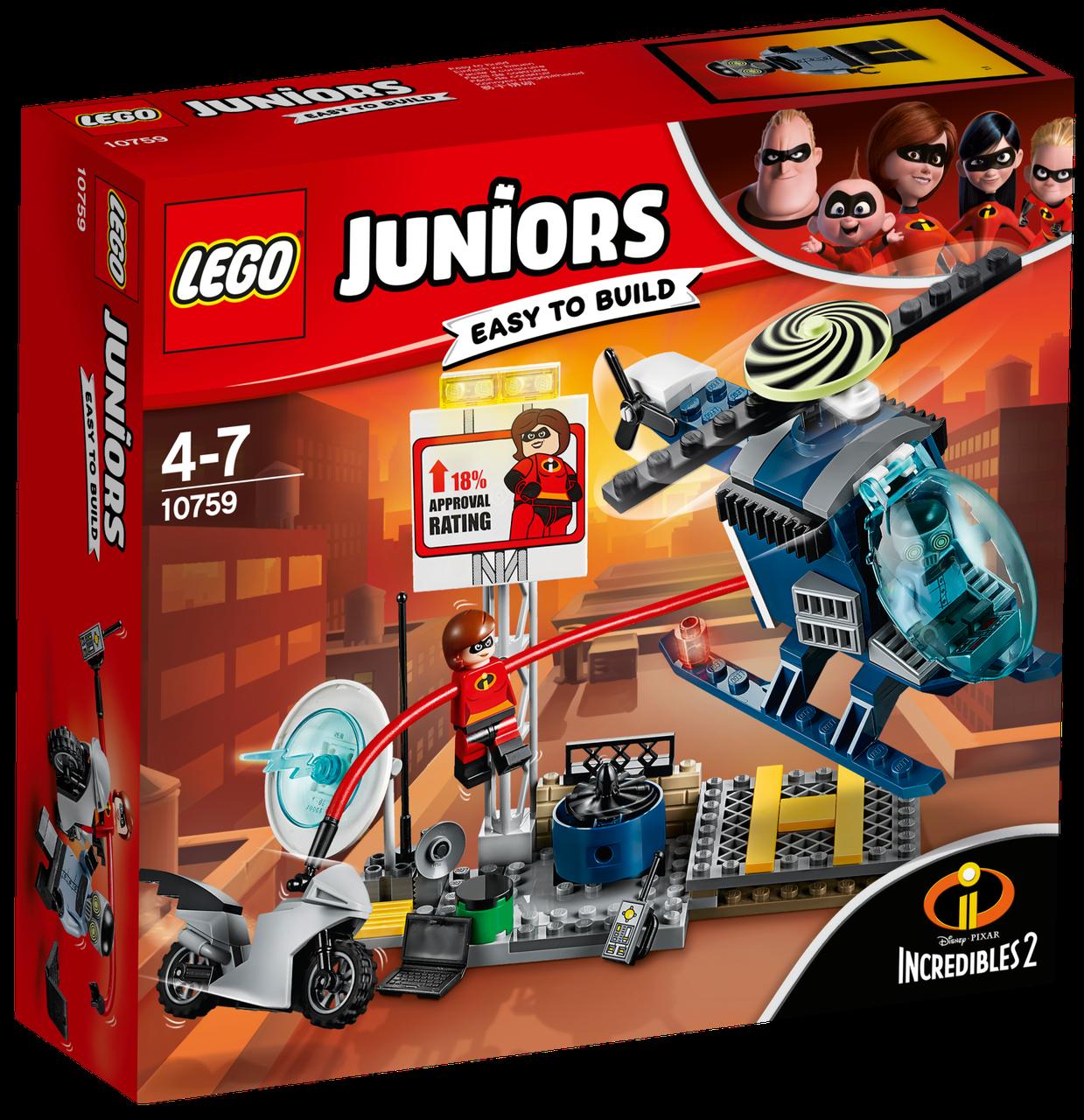 Lego Juniors Еластику: Гонитва на даху 10759