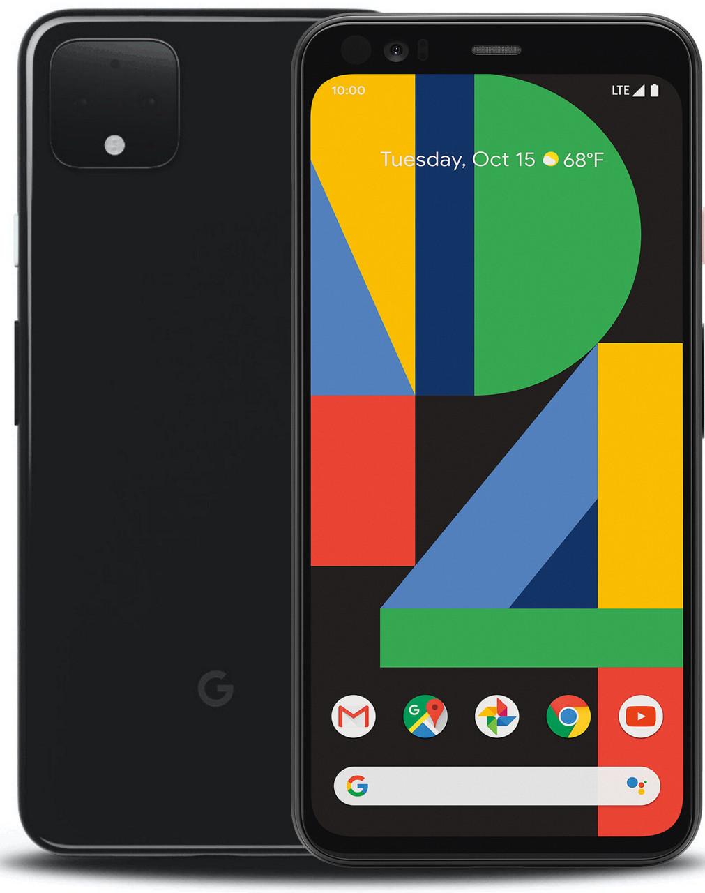 Смартфон Google Pixel 4 XL 64GB Black Refurbished