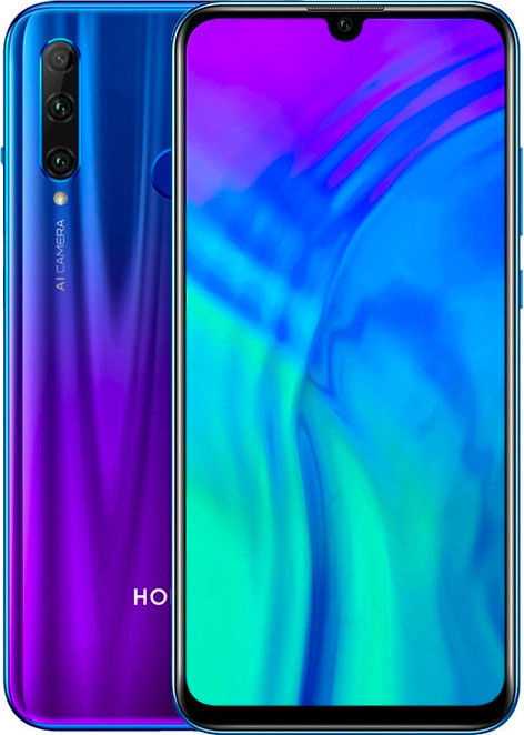 Смартфон Honor 20 Lite 4/128GB Blue (Global) IPS, 6,21''