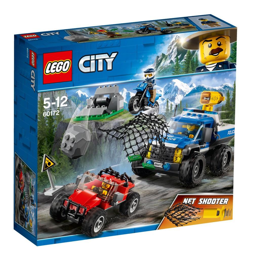 Lego City Погоня на грунтовой дороге 60172