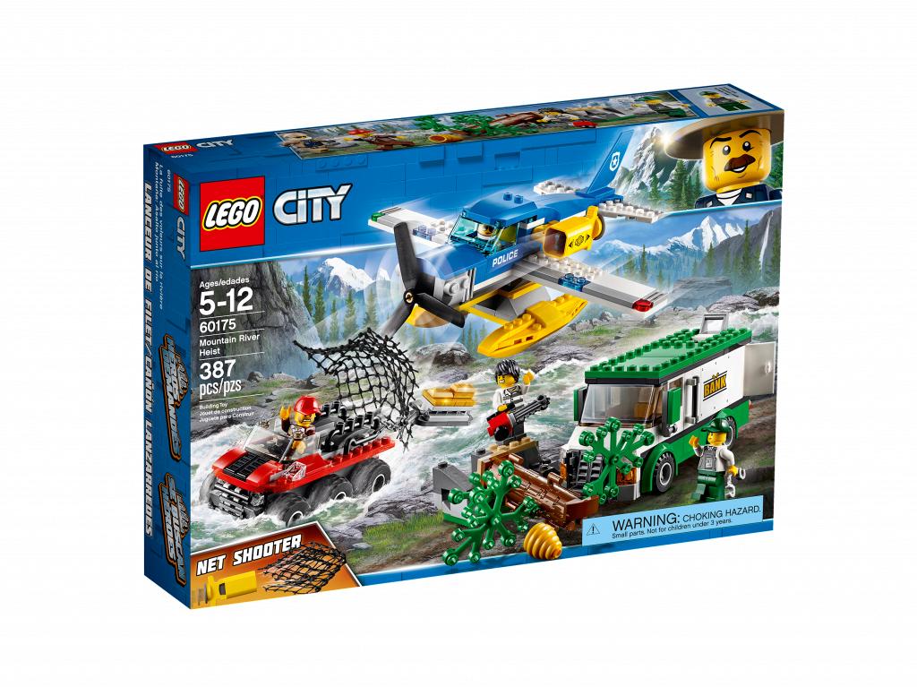 Lego City Ограбление у горной речки 60175