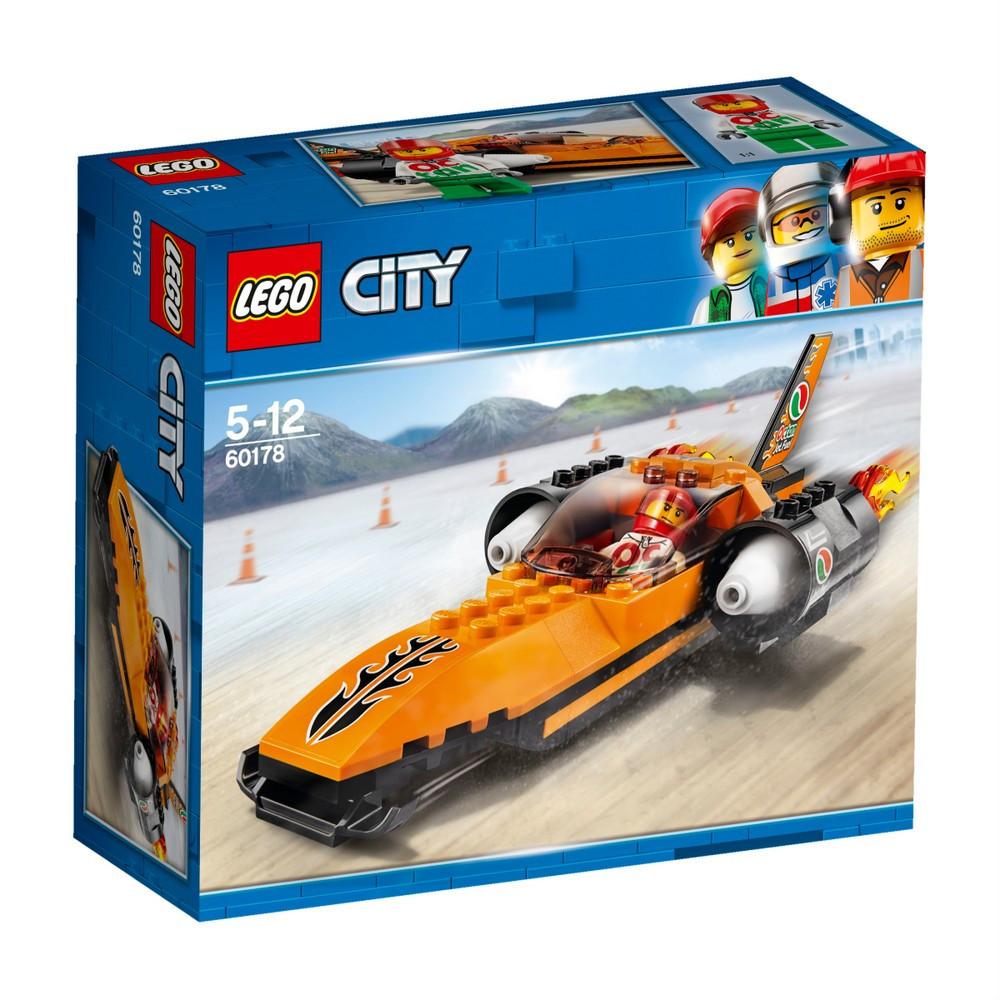 Детский Конструктор Lego City Победитель гонки 60178
