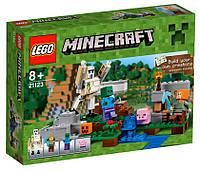 Детский Конструктор Lego Minecraft Железный голем 21123, фото 1