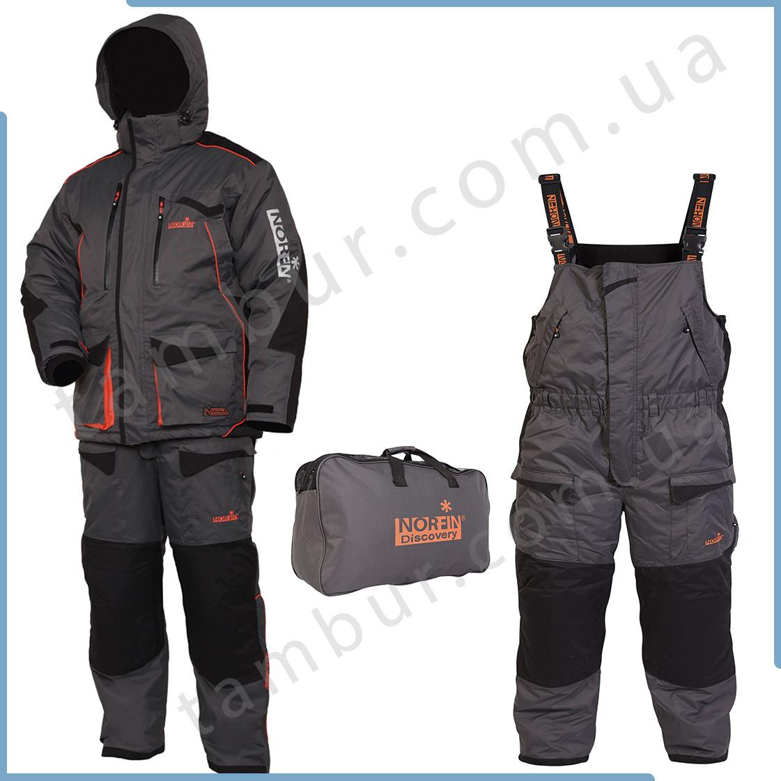 Зимний костюм Norfin Discovery Gray -35°C (обновлённый)