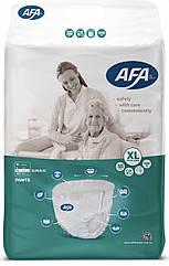 """Подгузники -трусики для взрослых ТМ""""AFA"""" размер XL 30 штук, длина пояса 105-145 см"""