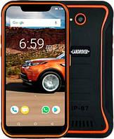 Захищений телефон Land Rover X3 orange протиударний водонепроникний смартфон