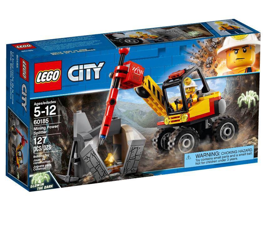 Детский Конструктор Lego City Мощный горный разделитель 60185