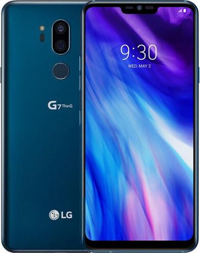 Смартфон LG G7+ ThinQ 6/128GB Moroccan Blue (G710N) 1sim