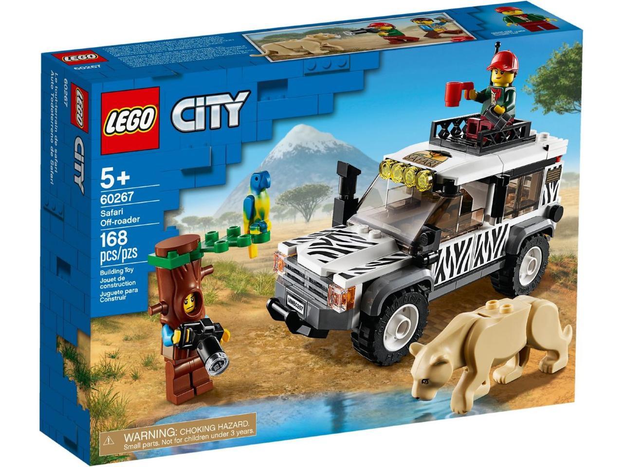 Детский Конструктор Lego City Внедорожник для сафари 60267